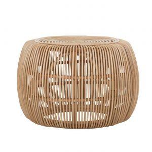 amandari konferenčný stolík lucca, stolík s naturálnym vzhľadom, okrúhly konferenčný stolík, konferečné stolíky, konferenčný stolík ratanový, nadčasový stolík, prírodný stolík, bočný stolík, príručný stolík