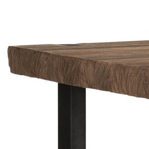amandari konzolový stolík beam, konzola, úzky stolík do predsiene, stolík do predsiene, obdĺžnikový drevený stolík, urban konzola, industriálna konzola, teaková konzola, odkladací stolík, masívny drevený stolík, polička do predsiene, stolík s masívnou drevenou doskou, drevený stolík so železnými nohami, stôl z recyklovaného teaku, nábytok s príbehom, moderný teakový stolík, úzka komoda s odkladacou poličkou