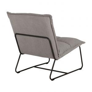 kreslo, nízke kreslo, fixné kreslo, kreslo s kovovou podnožou, nadčasové kreslo, kreslo do spálne, látkové kreslo, sedenie, kreslo bez podrúčok, pohodlné kreslo, mäkké kreslo, komfortné kreslo, moderné kreslo, dizajnové kreslo, prešívané kreslo, šedé kreslo