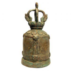 mosadzný, ázijský, orientálny, budhistický, darček, tip na darček, unikátny, doplnok, dekorácia, východoázijský, chrámový, patinovaný, zvon, kovový zvon, masívny zvon