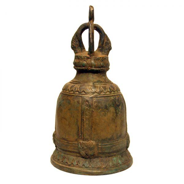 mosadzný, ázijský, orientálny, budhistický, darček, tip na darček, unikátny, doplnok, dekorácia, východoázijský, chrámový, patinovaný, zvon, kovový zvon