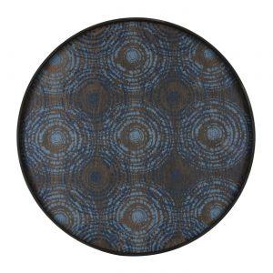 amandari tacka seaside beads ethnicraft, kávová tácka, dizajnové tácky, tácka, dekorácie, dekorácia, darček, tip na darček, unikátny darček, servírovanie, podnosy, štýlové servírovanie, tácka ako obraz, ručne vyrábané tácky, drevené tácky, okrúhle tácky, set tácok, nástenná dekorácia