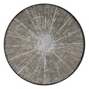 amandari tacka white slice ethnicraft, kávová tácka, dizajnové tácky, tácka, dekorácie, dekorácia, darček, tip na darček, unikátny darček, servírovanie, podnosy, štýlové servírovanie, tácka ako obraz, ručne vyrábané tácky, drevené tácky, okrúhle tácky, set tácok, nástenná dekorácia, tácka ako stolík
